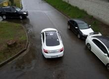 Отпечаток руки на крышу Opel Insignia