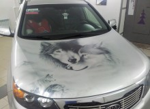 Волки на KIA Sorento