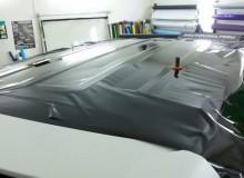 Крыша в черный глянец на Hyundai Santa Fel