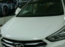 Крыша в черный глянец Hyundai Santa Fel