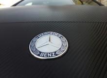 Mercedes Benz A45 AMG черный карбон