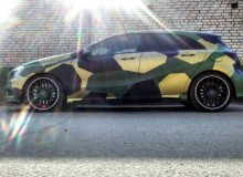 Городской камуфляж Mercedes-Benz A45 AMG #AUTOVINIL76RU