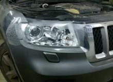 Защитная оклейка фар на Jeep Grand Cherokee #AUTOVINIL76RU