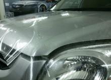 Защитная оклейка капота на KIA Sportage #AUTOVINIL76RU
