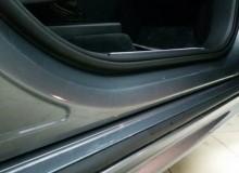 Бронирование передней части на Volvo XC90. А так же защитная оклейка под ручками, порогов, части крыши с передними стойками! #AUTOVINIL76RU