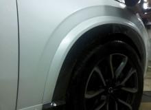 Защитная оклейка передней части на Mercedes-Benz Е-класс в полиуретан HEXIS/ Доверяйте свое авто профессионалам!  Студия винилового стайлинга #AUTOVINIL76.RU.