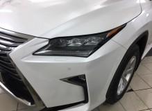 Защитная оклейка передней части на VOLVO XC90/ Доверяйте свое авто профессионалам!  Студия винилового стайлинга #AUTOVINIL76.RU.