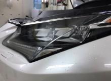 Защитная оклейка передней части нового Lexus RX в полиуретан HEXIS/ Доверяйте свое авто профессионалам!  Студия винилового стайлинга #AUTOVINIL76.RU.