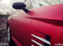 Chrysler Crossfire красный матовый хром