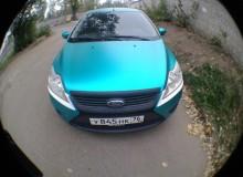 Ford Focus мятный матовый хром