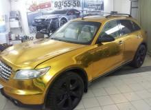 Infiniti FX 45 золото матовый