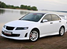 Honda Accord белый матовый kPMF