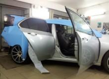 Honda Accord голубой матовый