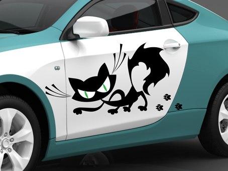 Наклейка на машину Ярославль